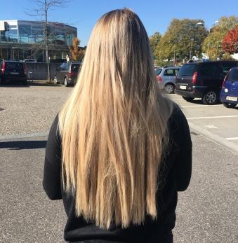 Haarlänge nachher